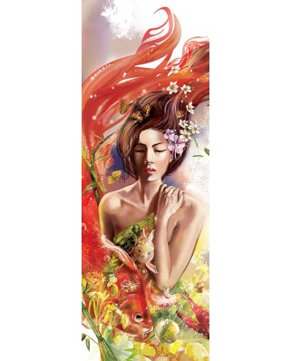 Puzzle 1000 piese panoramic - Dancing with Fish (Art-Puzzle-5346)