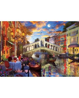 Puzzle 1500 piese - Rialto Bridge, Venice (Art-Puzzle-5372)