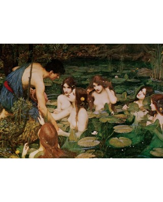 Puzzle 1500 piese - Hylas And The Nymphs, 1896 (Art-Puzzle-5377)