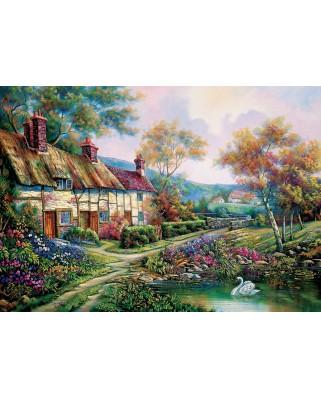 Puzzle 1500 piese - Spring Garden (Art-Puzzle-5379)