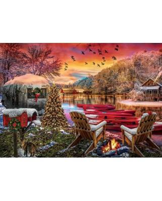Puzzle 2000 piese - Caravan Camp (Art-Puzzle-5472)