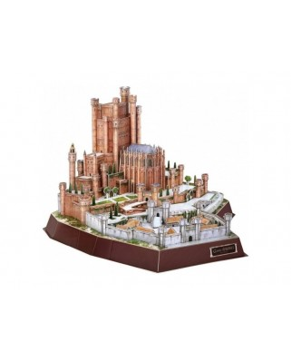 Puzzle 3D cu 314 piese - Game of Thrones - Red Keep (Cubic-Fun-DS0989)
