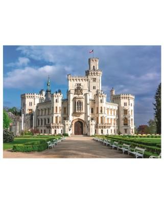 Puzzle 1000 piese - Hluboka Castle (Dino-53287)
