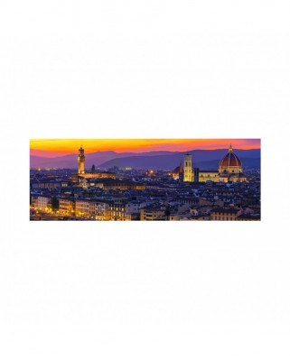 Puzzle 6000 piese panoramic - Golden Florence (Dino-56511)