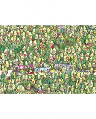 Puzzle 250 piese XXL - Avocado Park (Gibsons-G1044)