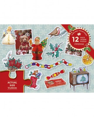 Puzzle 12 piese - Christmas (Gibsons-G2261)
