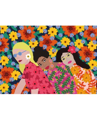 Puzzle 500 piese - Three Women (Gibsons-G3606)