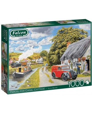 Puzzle 1000 piese - Parcel for Canal Cottage (Jumbo-11299)