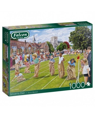 Puzzle 1000 piese - Sports Day (Jumbo-11335)