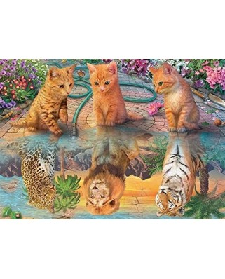 Puzzle 500 piese - Premium Collection - A Kitten's Dream (Jumbo-18850)