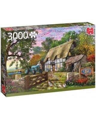 Puzzle 3000 piese - The Farmhouse (Jumbo-18870)