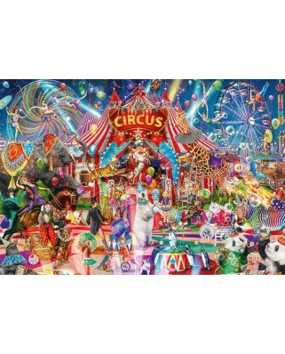 Puzzle 5000 piese - A Night at the Circus (Jumbo-18871)