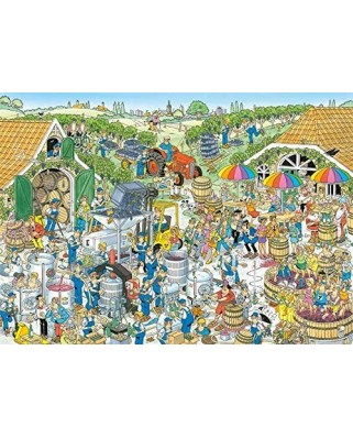 Puzzle 1000 piese - Jan Van Haasteren: The Winery (Jumbo-19095)