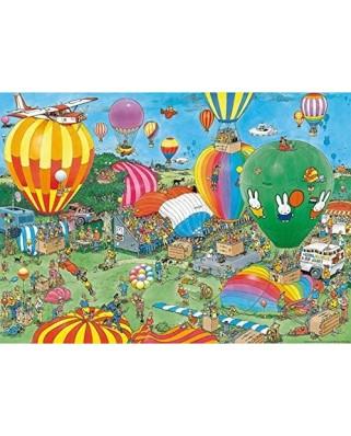 Puzzle 1000 piese - Jan Van Haasteren: Hooray, miffy 65 years (Jumbo-20024)