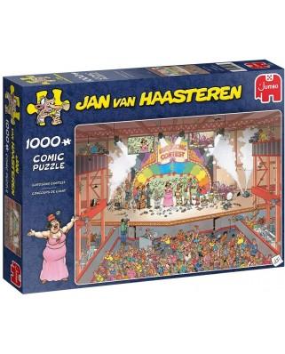 Puzzle 1000 piese - Jan Van Haasteren: Eurosong Contest (Jumbo-20025)