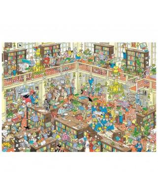 Puzzle 2000 piese - Jan Van Haasteren: The Library (Jumbo-20030)