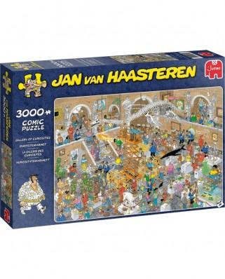 Puzzle 3000 piese - Jan Van Haasteren: Gallery of Curiosities (Jumbo-20031)