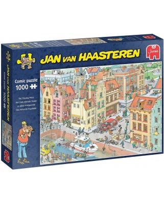 Puzzle 1000 piese - Jan Van Haasteren: The Missing Piece (Jumbo-20041)