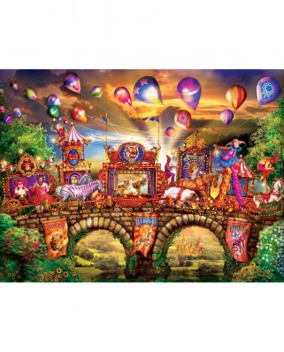 Puzzle 300 piese XXL - Carnivale Parade (Master-Pieces-32102)