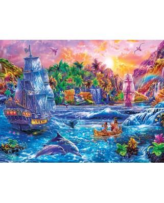Puzzle 300 piese XXL - Tropics Paradise Found (Master-Pieces-32121)
