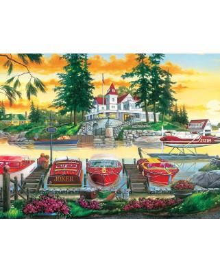 Puzzle 550 piese - Millionaire's Row (Master-Pieces-32128)