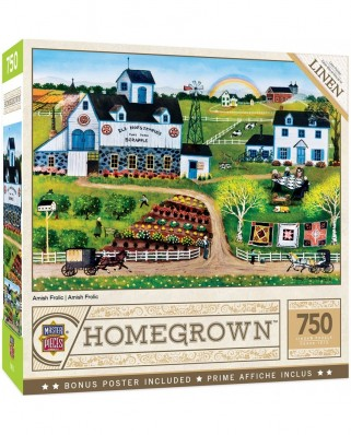 Puzzle 750 piese - Amish Frolic (Master-Pieces-32138)