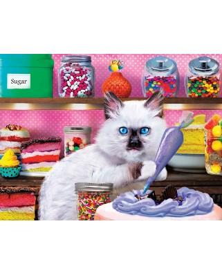 Puzzle 300 piese XXL - Kitten Cake Shop (Master-Pieces-32150)