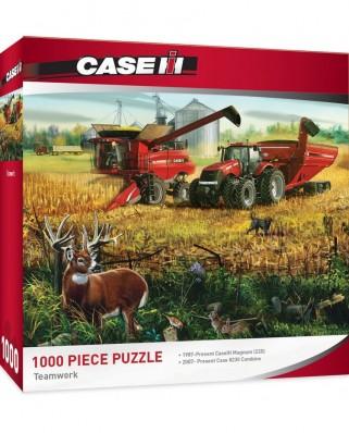 Puzzle 1000 piese - Teamwork (Master-Pieces-71439)
