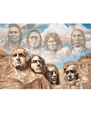Puzzle 550 piese - Founding Fathers (Master-Pieces-71730)