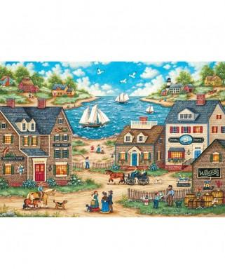 Puzzle 1000 piese XXL - Mr. Wiggins Whirligigs (Master-Pieces-71828)