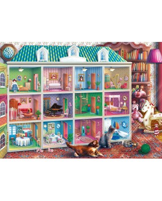 Puzzle 1000 piese - Sophia's Dollhouse (Master-Pieces-71837)