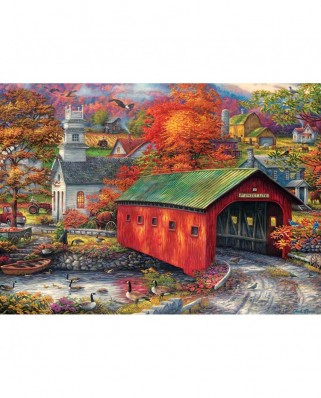 Puzzle 1000 piese - Chuck Pinson: The Sweet Life (Master-Pieces-71904)