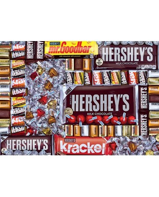 Puzzle 1000 piese - Hershey's Chocolate Paradise (Master-Pieces-71911)