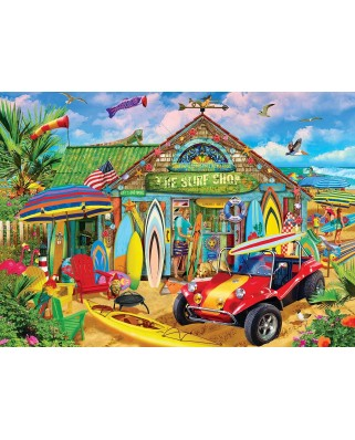 Puzzle 1000 piese - Beach Time Fun (Master-Pieces-72001)