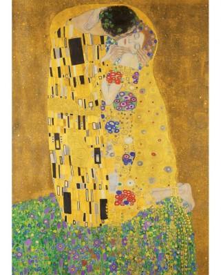 Puzzle 1000 piese - Gustav Klimt: The Kiss (Master-Pieces-72014)