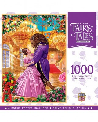 Puzzle 1000 piese - Beauty and the Beast (Master-Pieces-72017)