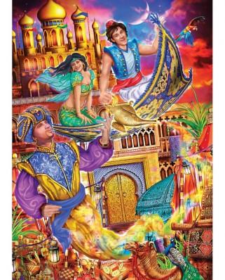 Puzzle 1000 piese - Aladdin (Master-Pieces-72019)