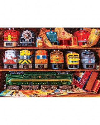 Puzzle 2000 piese - Well Stocked Shelves (Master-Pieces-72046)