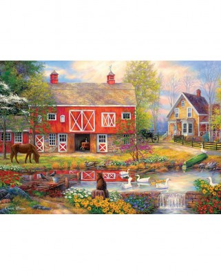 Puzzle 2000 piese - Reflections on Country Living (Master-Pieces-72047)