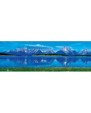 Puzzle 1000 piese panoramic - Grand Tetons National Park - Wyoming (Master-Pieces-72063)