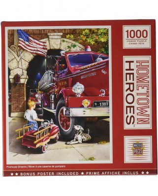 Puzzle 1000 piese - Hometown Heroes (Master-Pieces-72066)