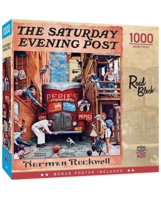 Puzzle 1000 piese - Norman Rockwell: The Saturday Evening Post (Master-Pieces-72068)