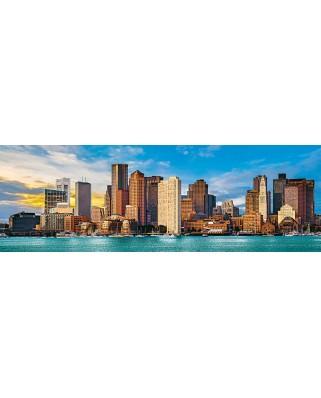 Puzzle 1000 piese panoramic - City Panoramics - Boston (Master-Pieces-72072)