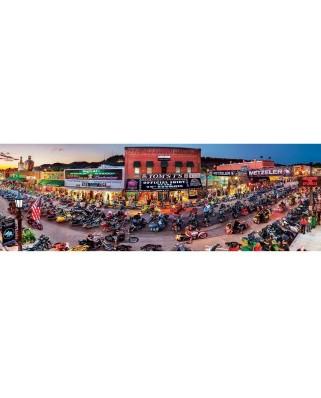 Puzzle 1000 piese panoramic - Sturgis - South Dakota (Master-Pieces-72074)