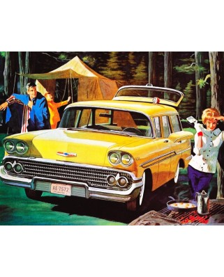 Puzzle 100 piese - Car Camping Mini (New-York-Puzzle-GM958)