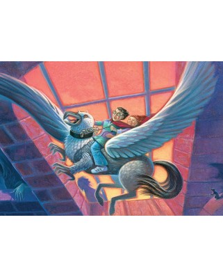 Puzzle 200 piese XXL - Harry Potter - The Hippogriff (New-York-Puzzle-HP1373)