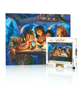 Puzzle 100 piese mini - Harry Potter - Quibbler Interview (New-York-Puzzle-HP1714)