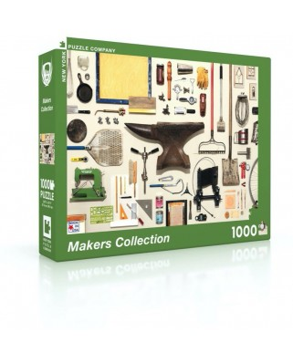 Puzzle 1000 piese - Makers Collection (New-York-Puzzle-JG1896)