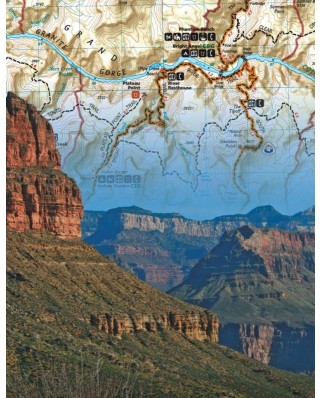 Puzzle 100 piese mini - Grand Canyon (New-York-Puzzle-NG1849)