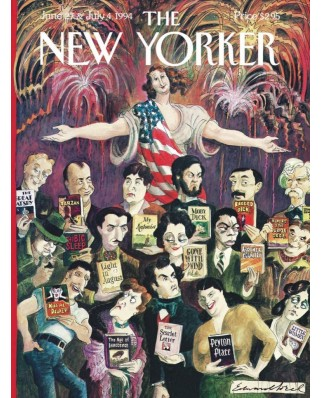 Puzzle 1000 piese - New Yorker The Melting Plot (New-York-Puzzle-NY1940)